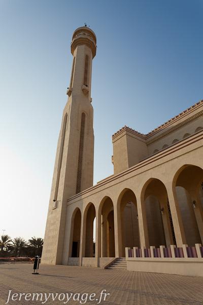 Tour de la mosquée Al Fateh