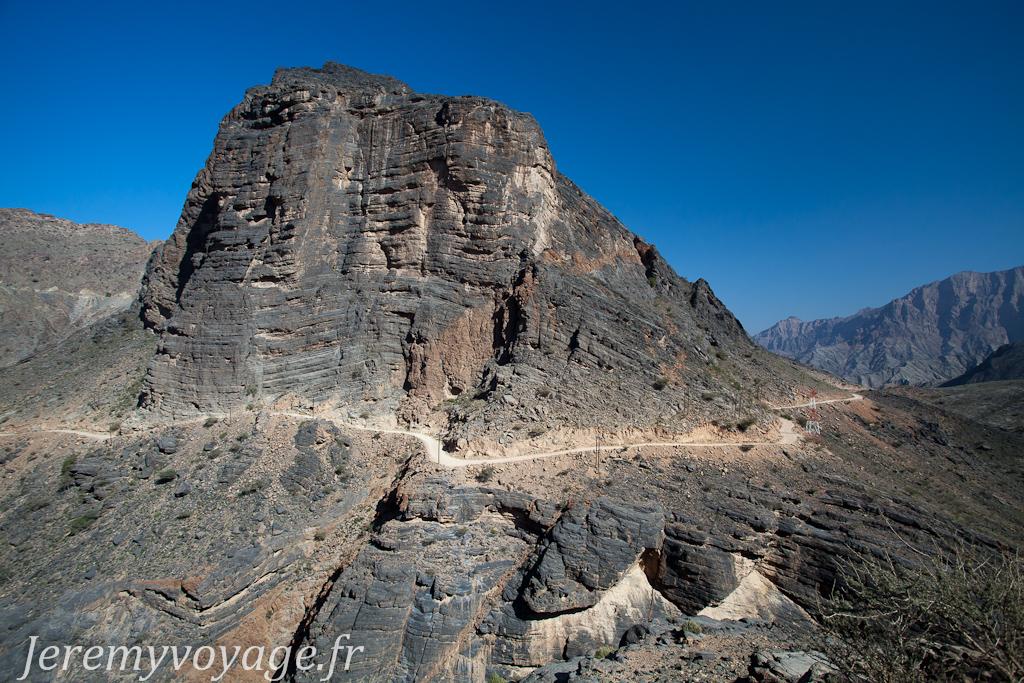 Ma route dans Jabal Al Akhdar